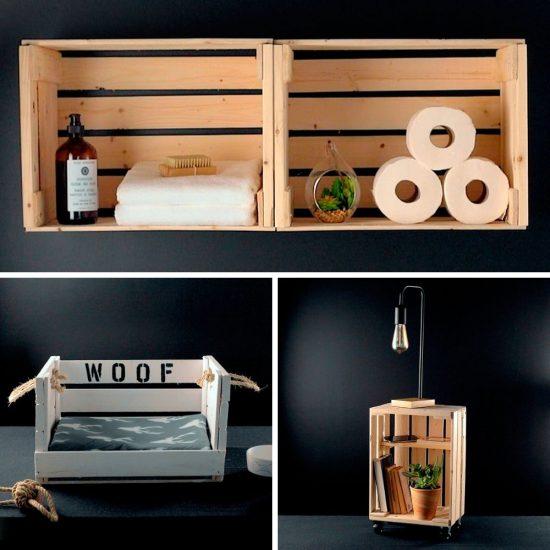 DIY: Une caisse de bois, trois projets!