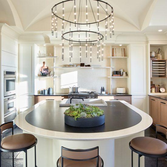 Courbes et raffinement dans la cuisine