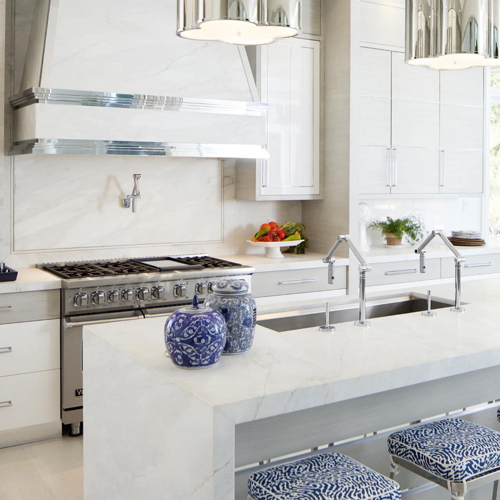 Une cuisine au charme luxueux
