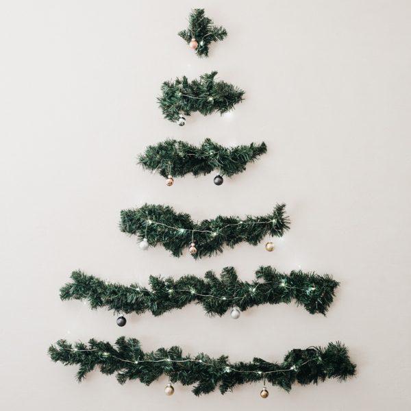 45 brillantes idées pour réinventer le sapin de Noël traditionnel