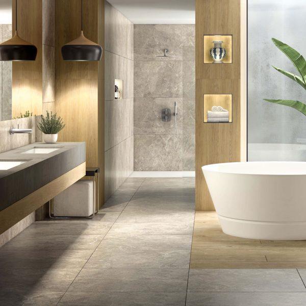 Inspiration spa dans la salle de bain