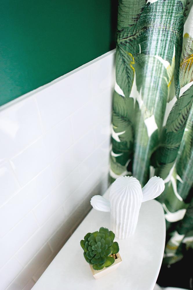 Jungle moderne dans la salle de bain2