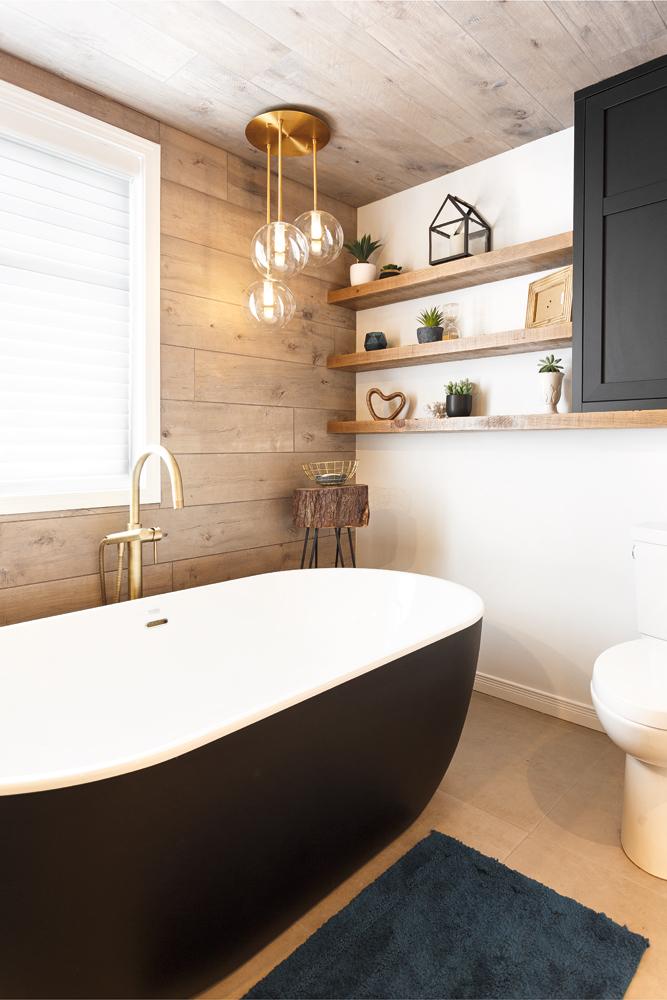 Une salle de bain à l'exotisme enveloppant1
