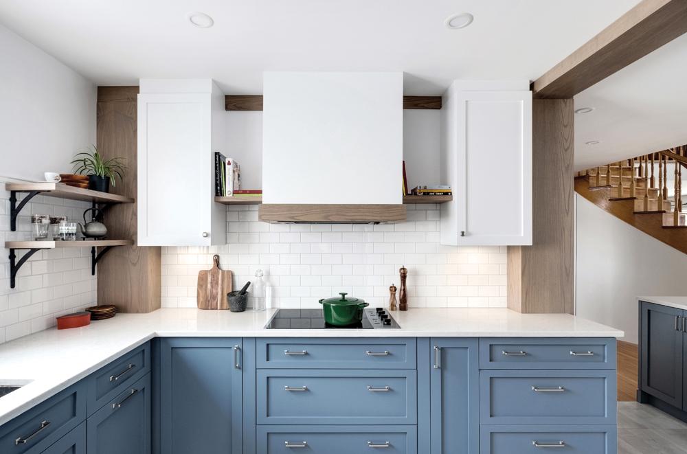 Une cuisine combinant symétrie et profondeur1