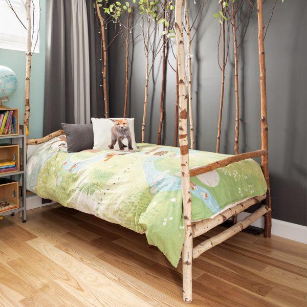 Chambre d'enfant couleur nature