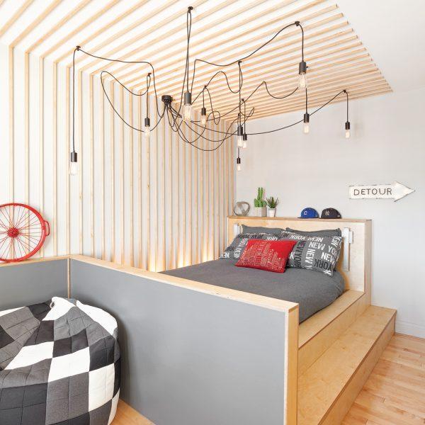 Concept urbain pour la chambre d'enfant