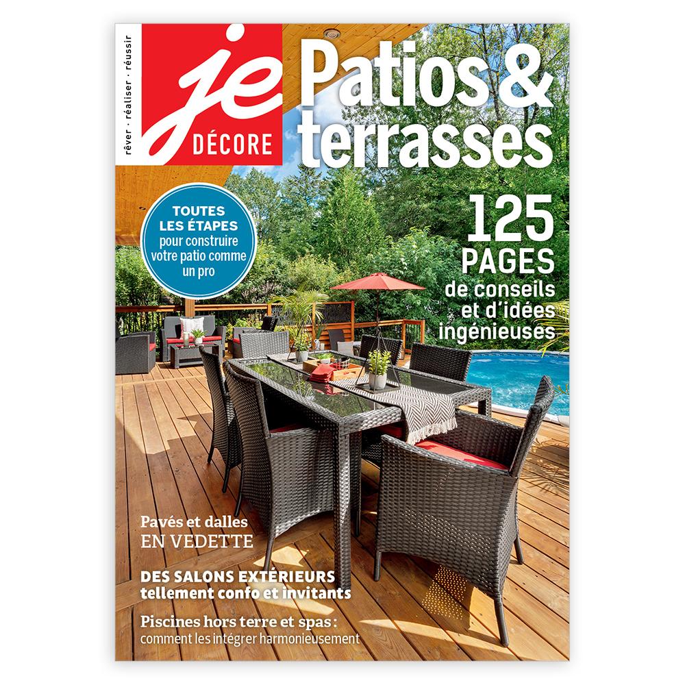 Magazine numérique: patios & terrasses