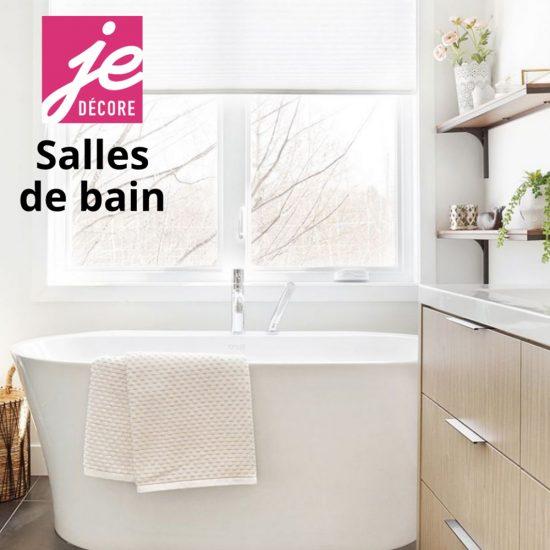 Magazine numérique: Je décore – Salles de bain