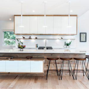 Modernité scandinave dans la cuisine