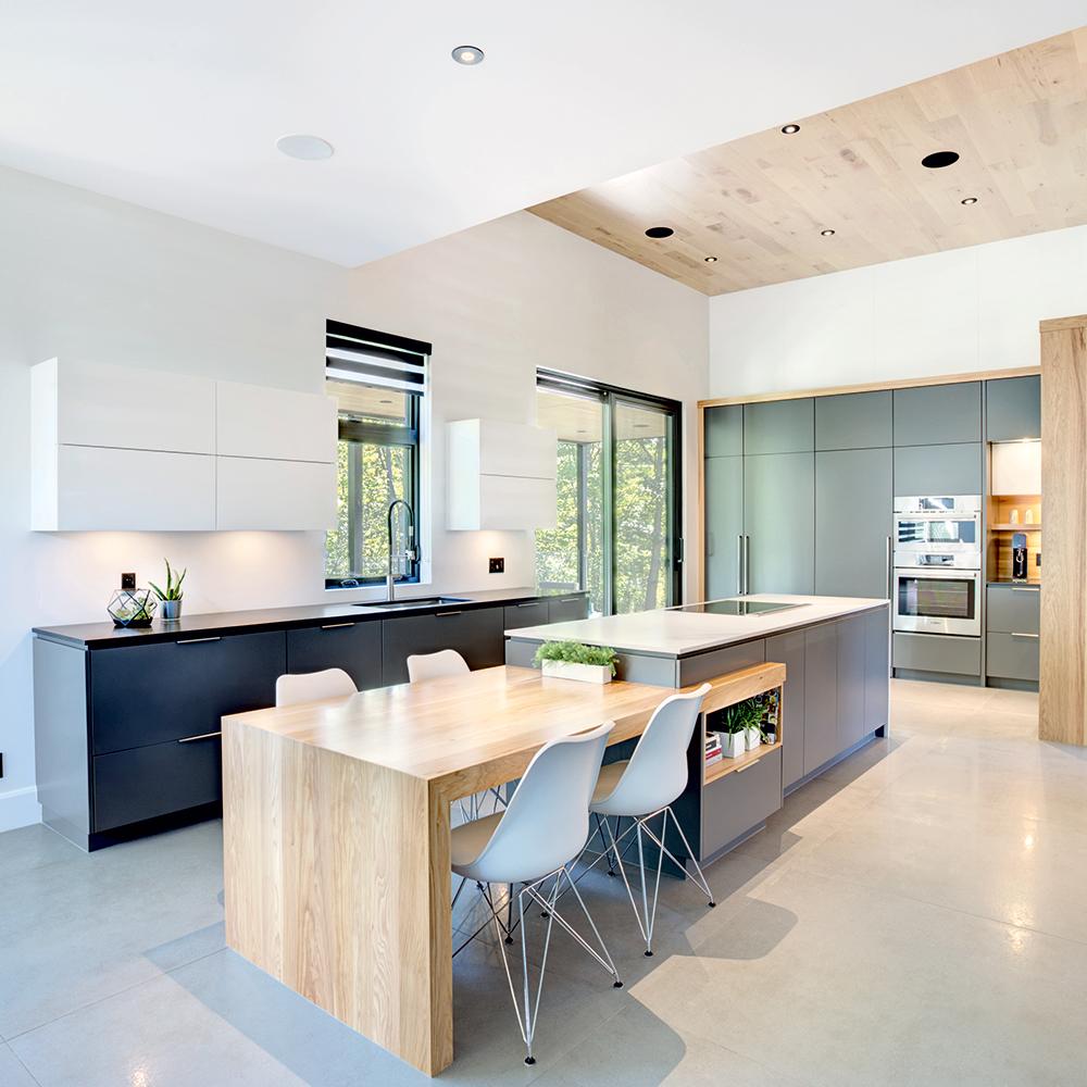 Espace innovant dans la cuisine