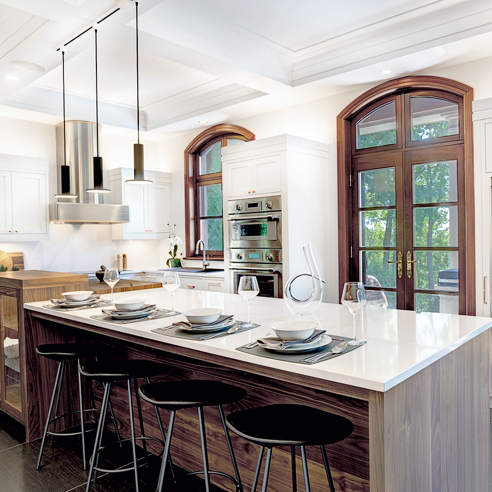 Joyau d'architecture dans la cuisine