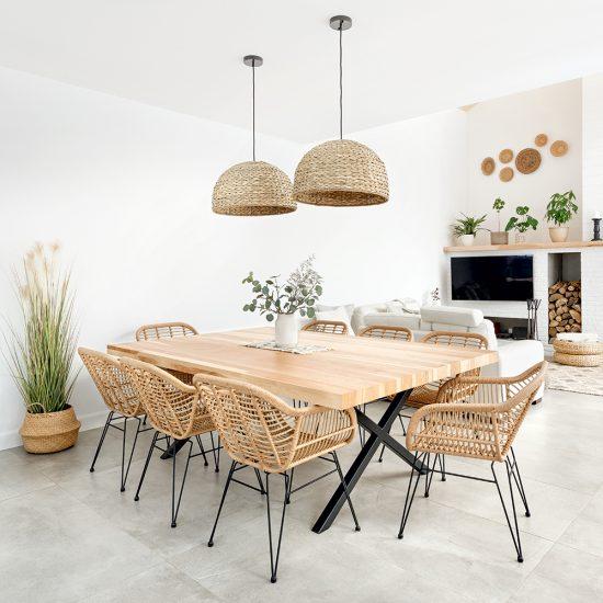 Tendances déco 2021 – Les meubles en rotin