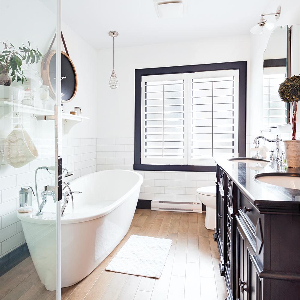 Des décors inspirants de salles de bain pour tous les goûts