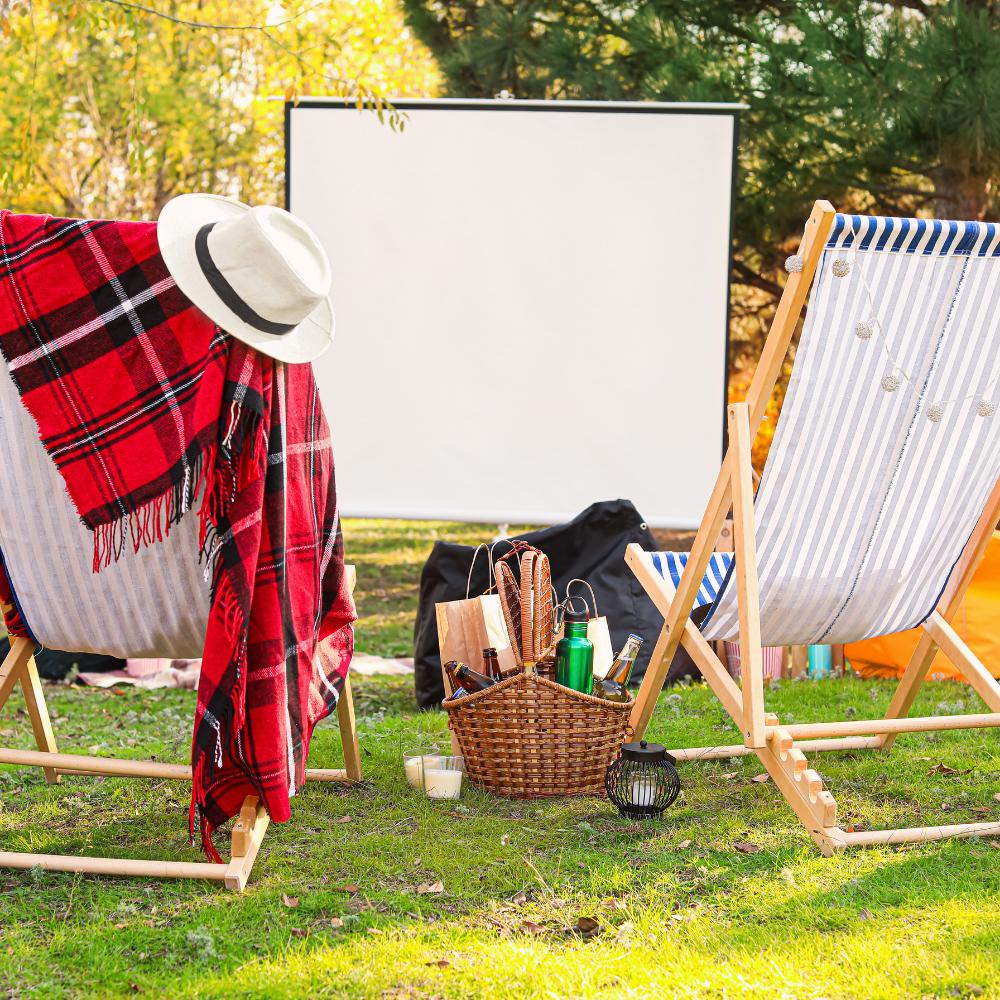 Cinémas en plein air: des décors inspirants trouvés sur Pinterest