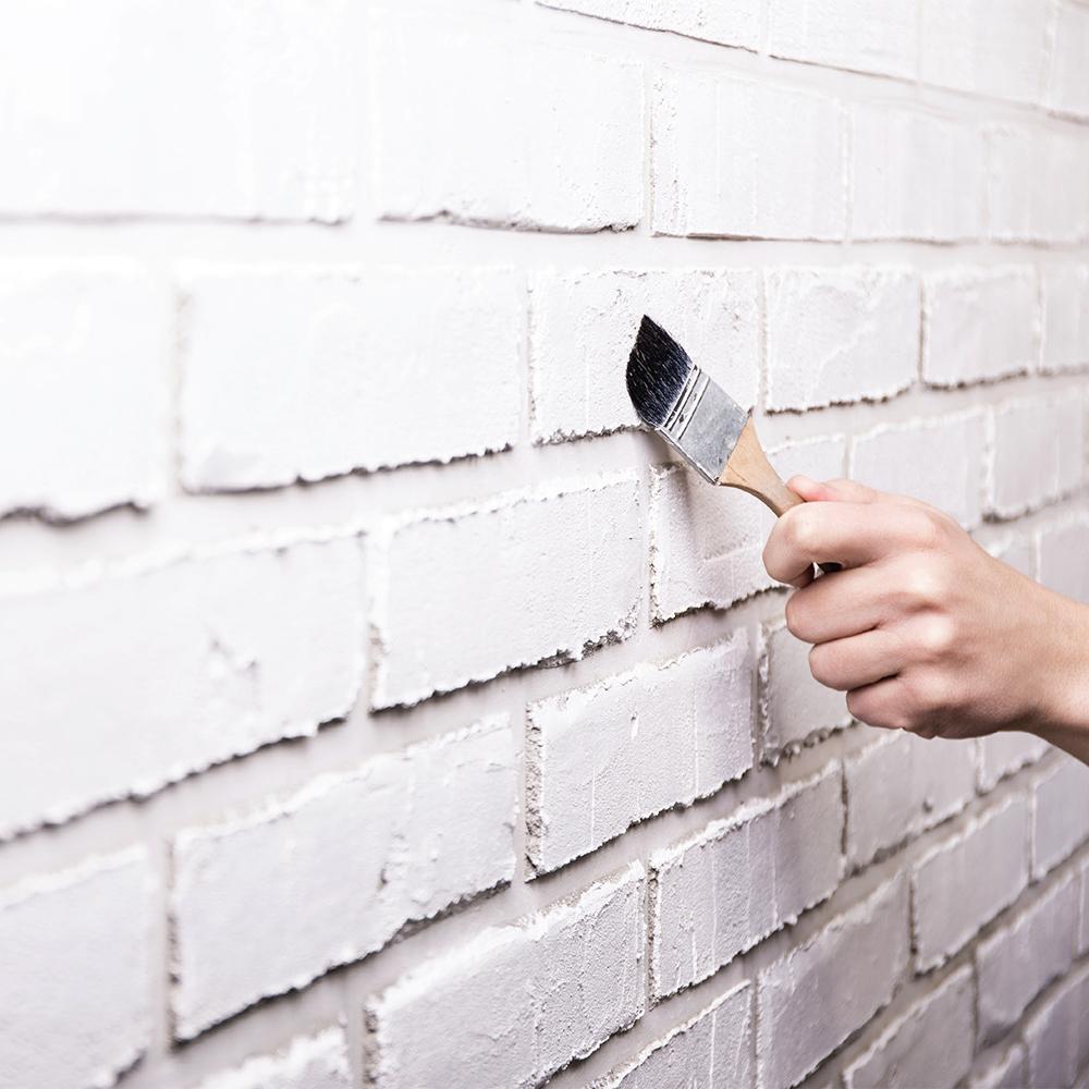 Comment peindre la brique