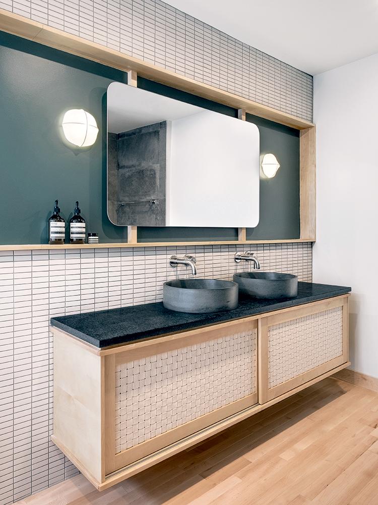 Salle de bain Japandi