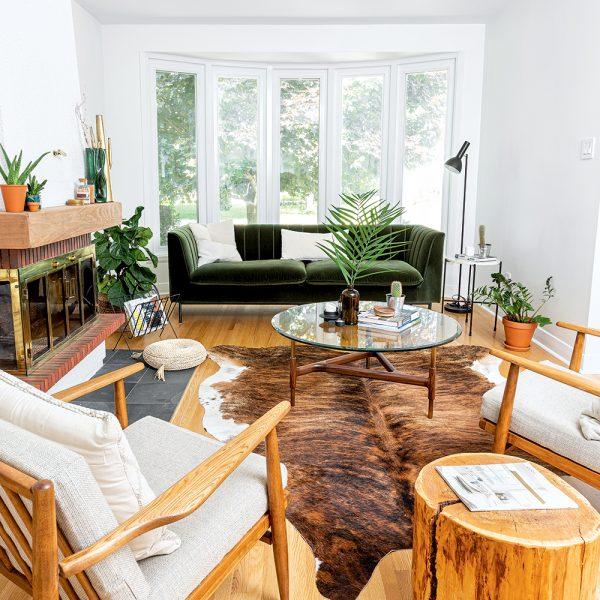 Salon minimaliste kinfolk