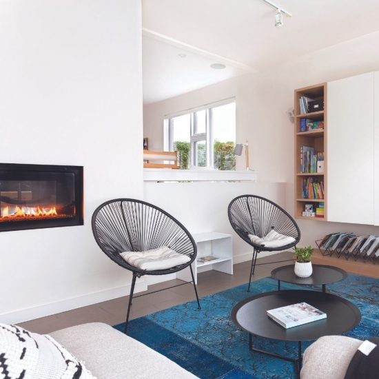 Maison d'architecte de style scandinave