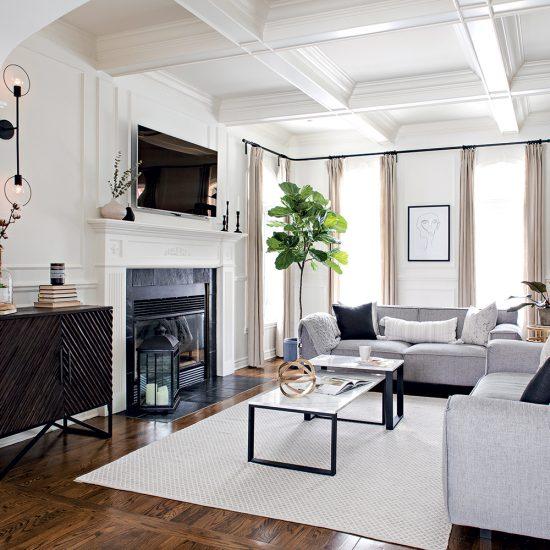 Salon classique new-yorkais