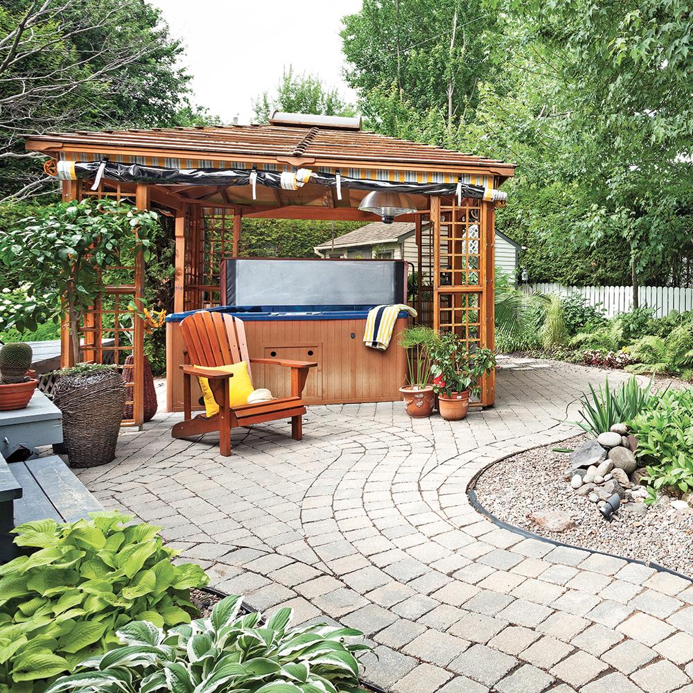 Comment Fabriquer Une Terrasse En Beton comment poser des pavés de béton - je jardine