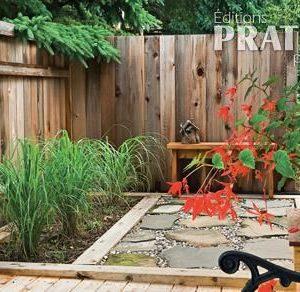 Cachet rustique et jardin secret
