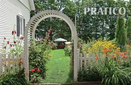 Arche Invitante Dans Le Jardin Je Jardine