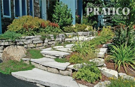 Solution pour un jardin en pente - Je Jardine