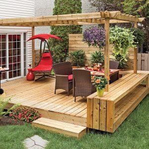 Un patio plein de style à imiter
