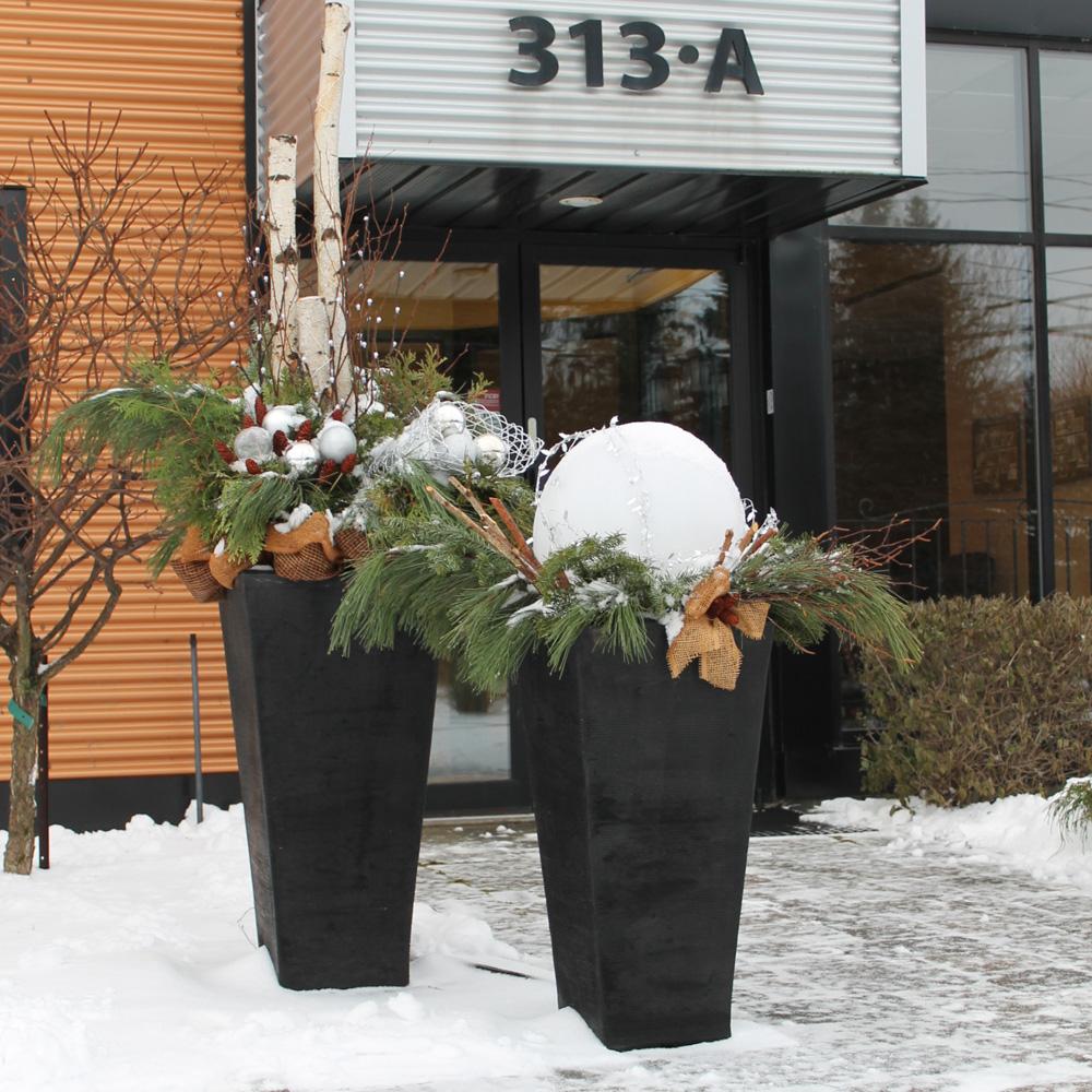 Deco De Noel Dans Le Jardin du jardin dans vos décorations hivernales - je jardine