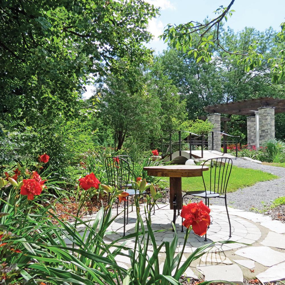 Jardin romantique - Je Jardine