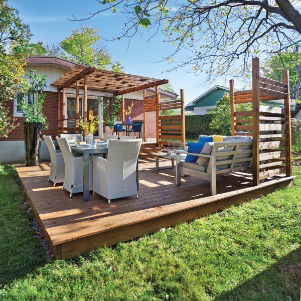 En étapes: construire un patio facilement