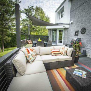 Terrasse cocooning