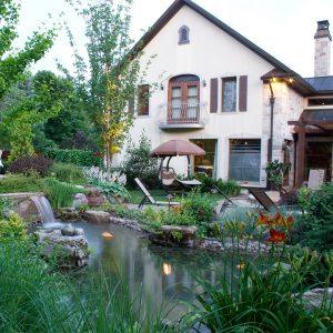 Maison sur roc