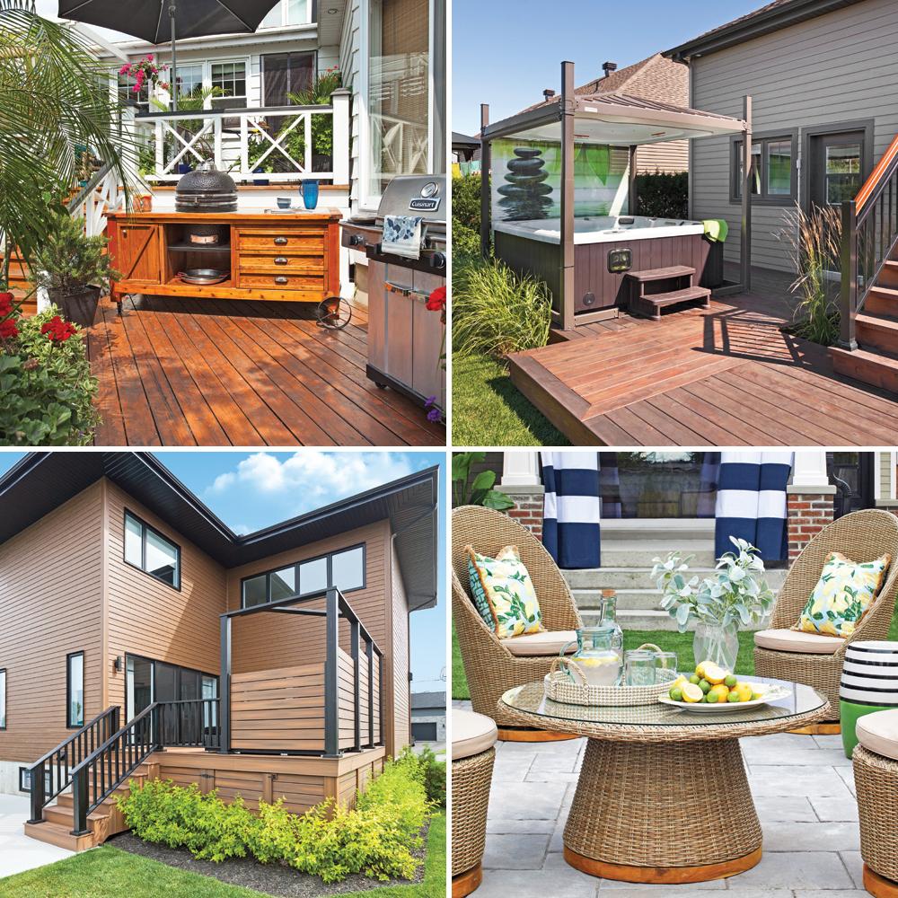 Top 10 des nouvelles tendances pour le patio
