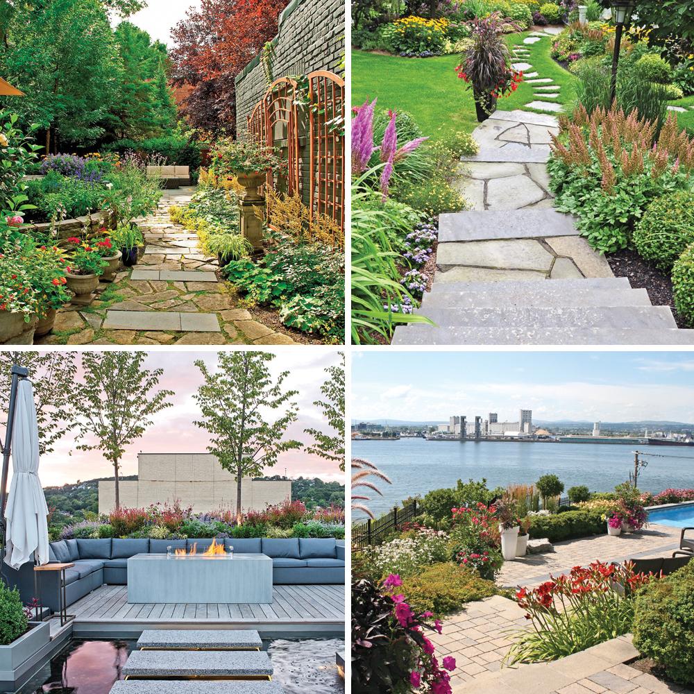 5 jardins colorés