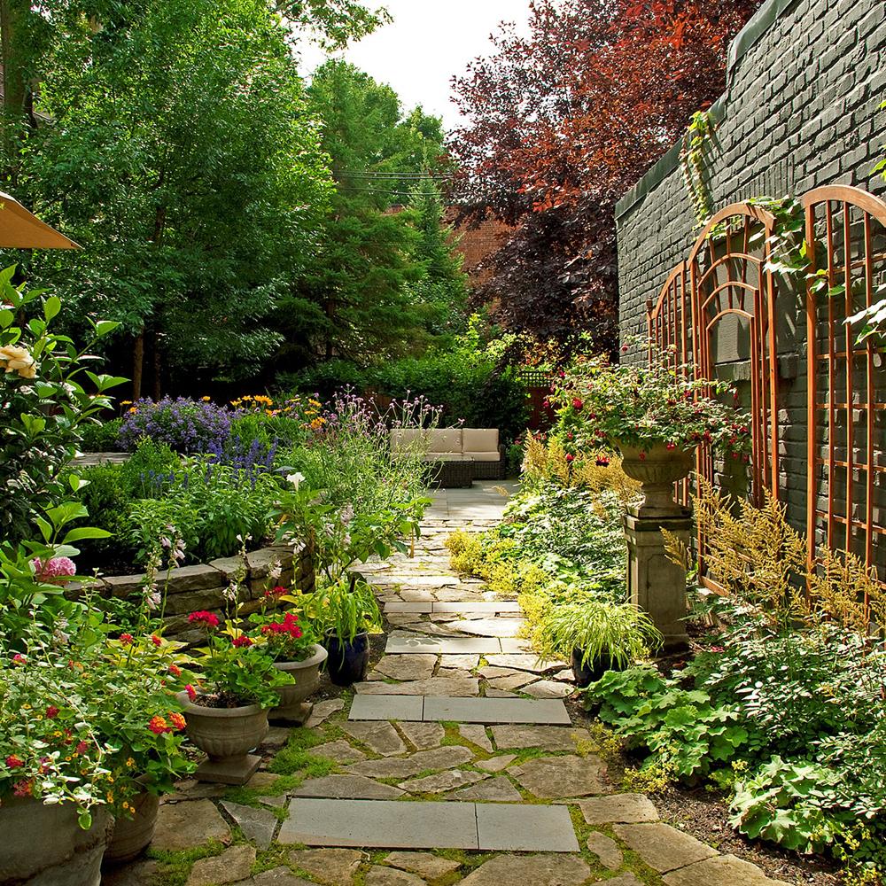 Passage champêtre au jardin - Je Jardine