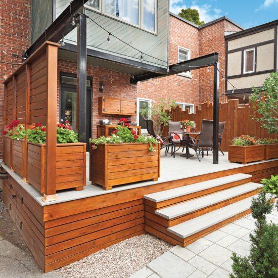 Solutions d'experts pour limiter l'entretien du patio