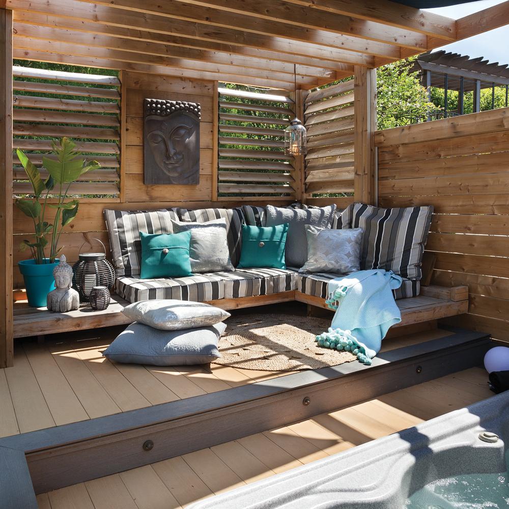 Espace lounge: relaxation assurée!