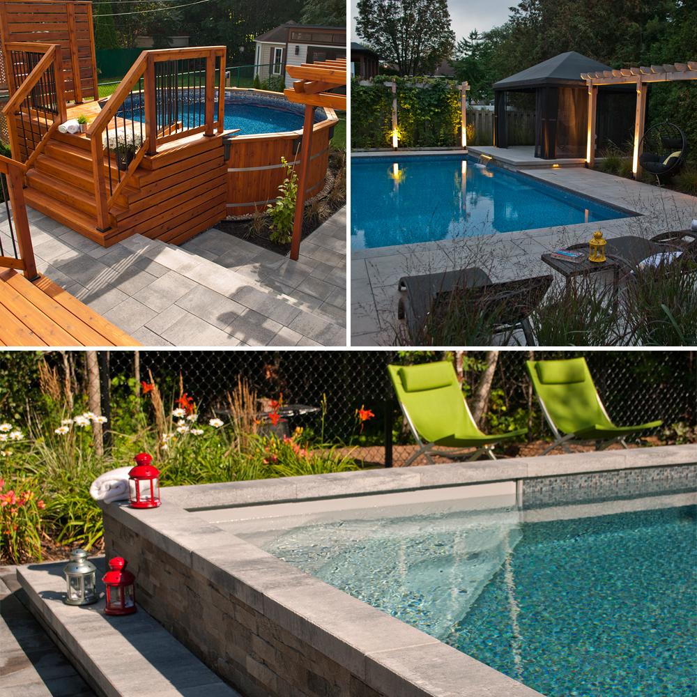Aménagement Autour Piscine Creusée l'aménagement de piscine sous toutes ses formes - je jardine