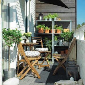 Mobilier adapté pour petit balcon