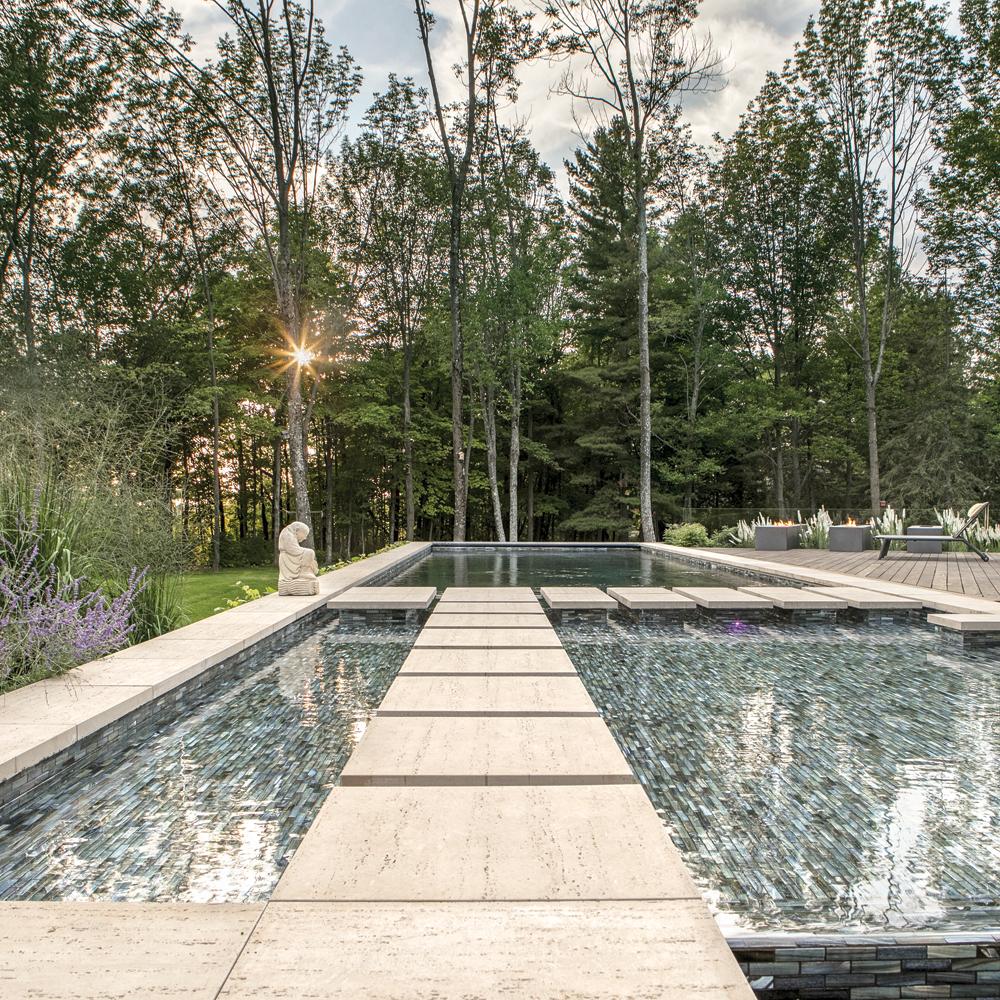 Couloir de nage en pleine nature!