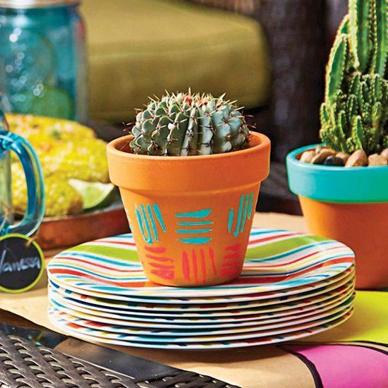 DIY: Pots ensoleillés pour les plantes