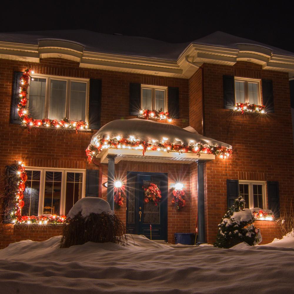Des décorations de Noël au style traditionnel