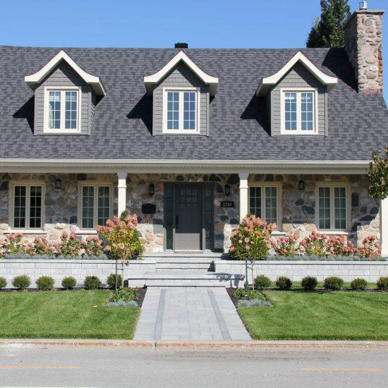 Maison canadienne modernisée