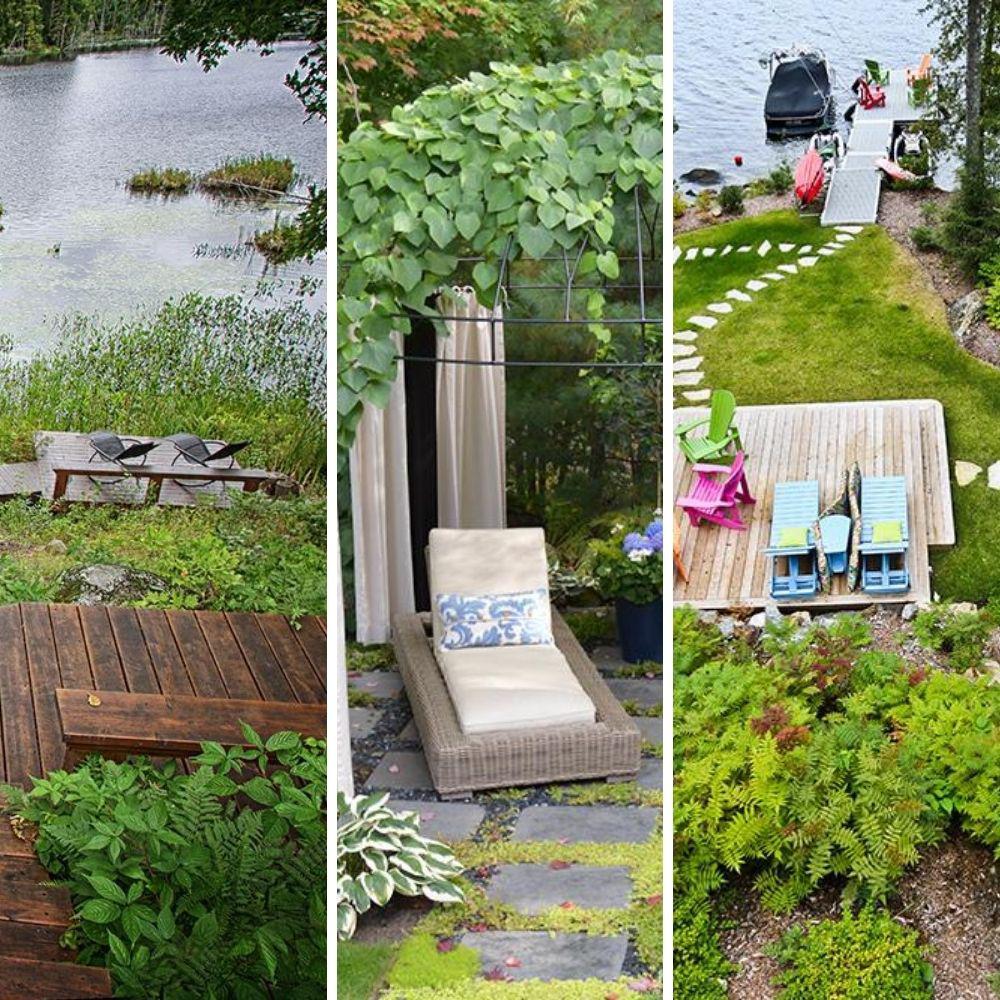Aménagements paysagers: 10 cours pour profiter de l'été!