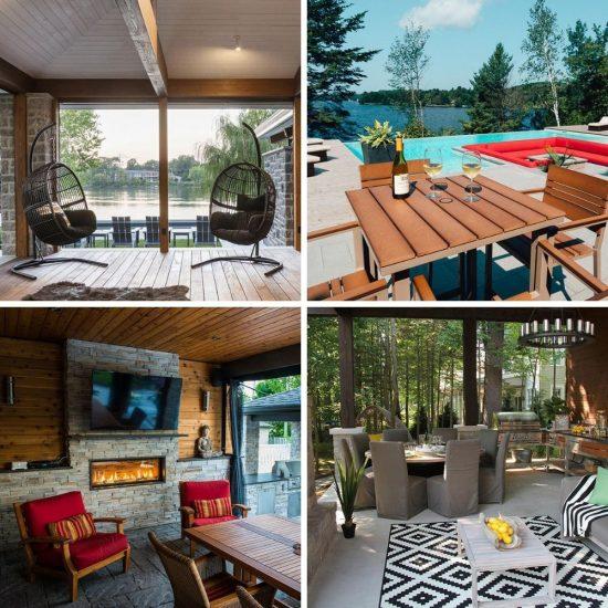 L'art de vivre à l'extérieur: 10 aménagements inspirants