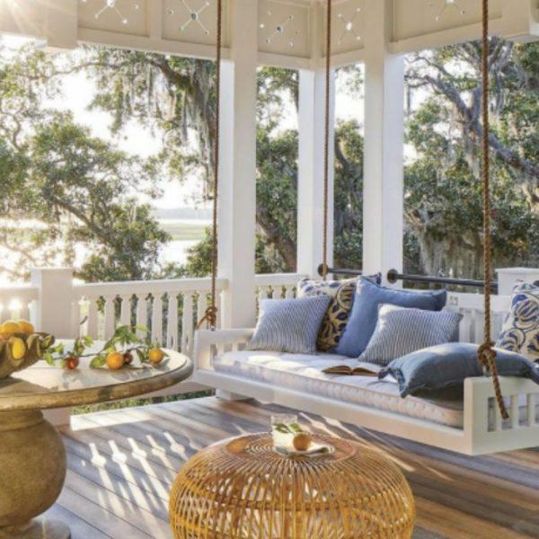 12 jolis décors de porches et de vérandas où passer l'été