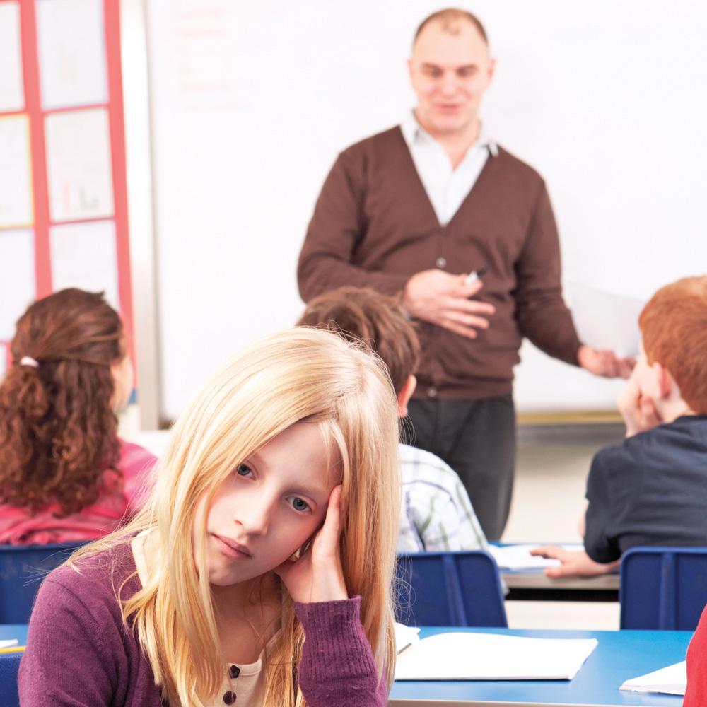 Mon enfant n'aime pas son prof: quoi faire?