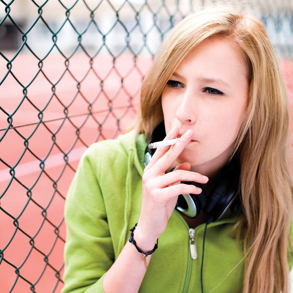 La cigarette chez les jeunes