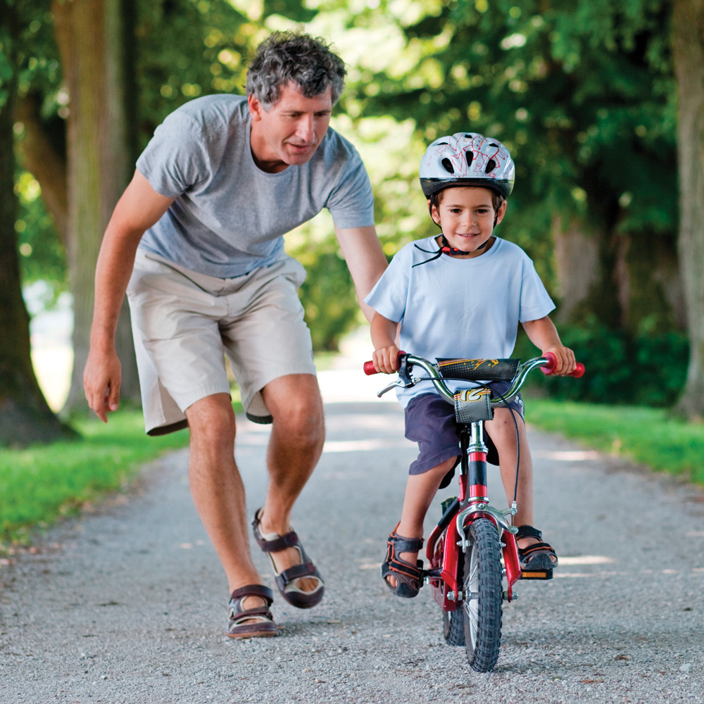 L'apprentissage du vélo: à chacun son rythme